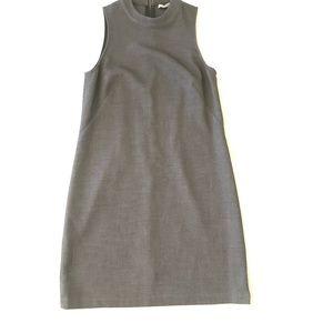 Charcoal gray loft business dress